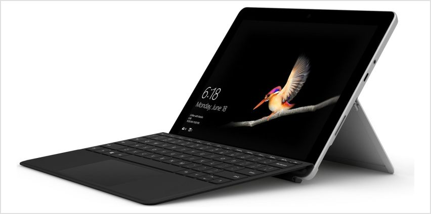 Microsoft Surface Go 4GB 64GB 2-in-1 Laptop with Type Cover from Argos