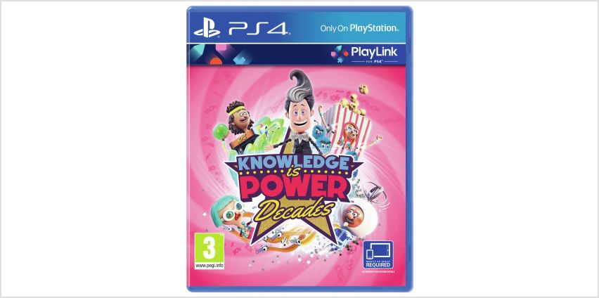 Knowledge is Power: Decades PS4 Game from Argos