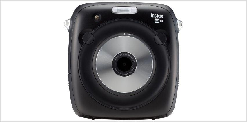 Fujifilm instax SQ10 Hybrid Instant Camera - Black from Argos