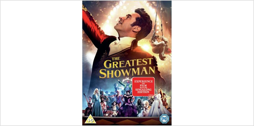 The Greatest Showman DVD from Argos