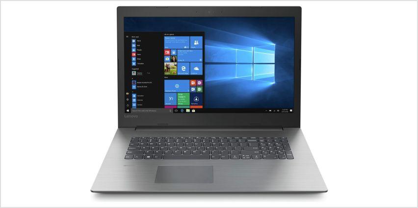 Lenovo IdeaPad 330 17.3 Inch AMD A6 8GB 1TB Laptop - Black from Argos
