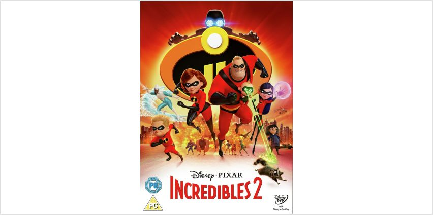 Incredibles 2 DVD from Argos
