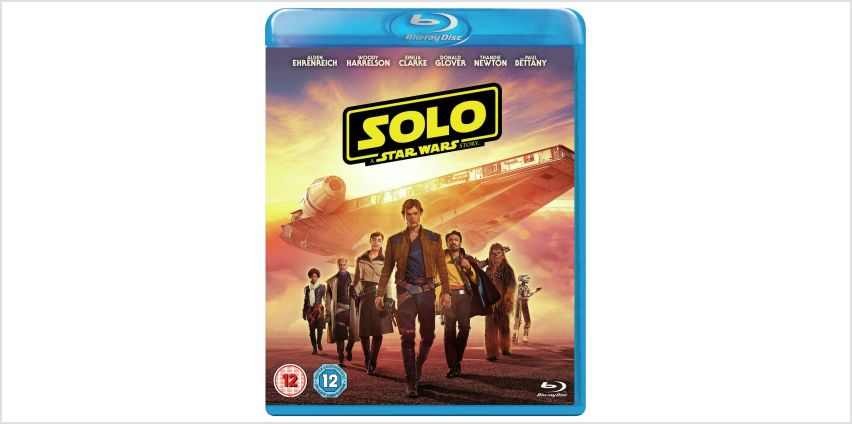 Solo: A Star Wars Story Blu-Ray from Argos