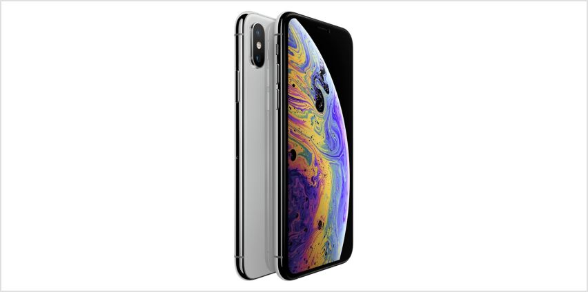 Sim Free iPhone Xs 256GB Mobile Phone - Silver from Argos