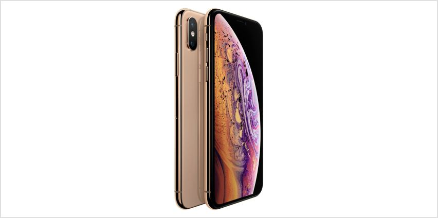Sim Free iPhone Xs 256GB Mobile Phone - Gold from Argos