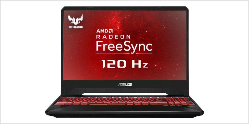 ASUS TUF FX505 15.6 In Ryzen 5 8GB 1TB RX560X Gaming Laptop from Argos