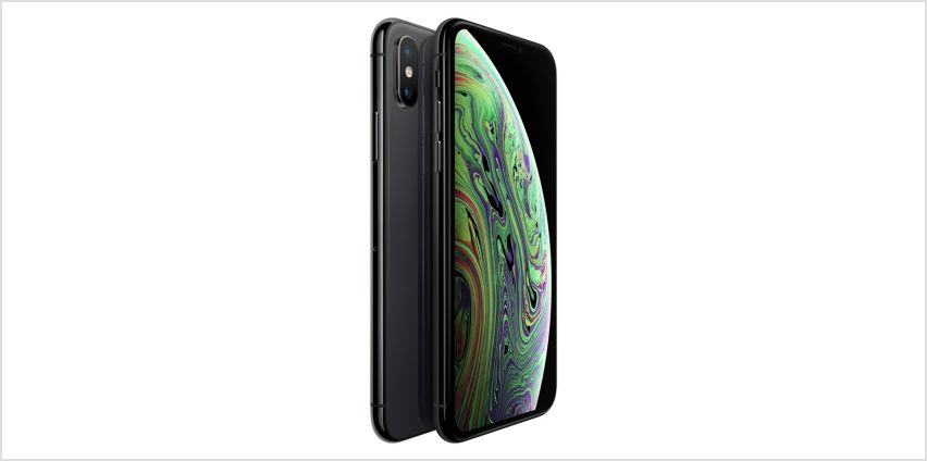Sim Free iPhone Xs 64GB Mobile Phone - Space Grey from Argos