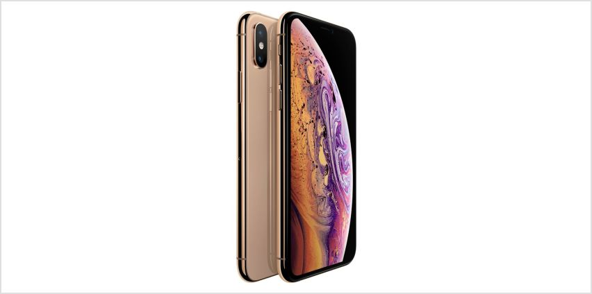 Sim Free iPhone Xs 64GB Mobile Phone - Gold from Argos