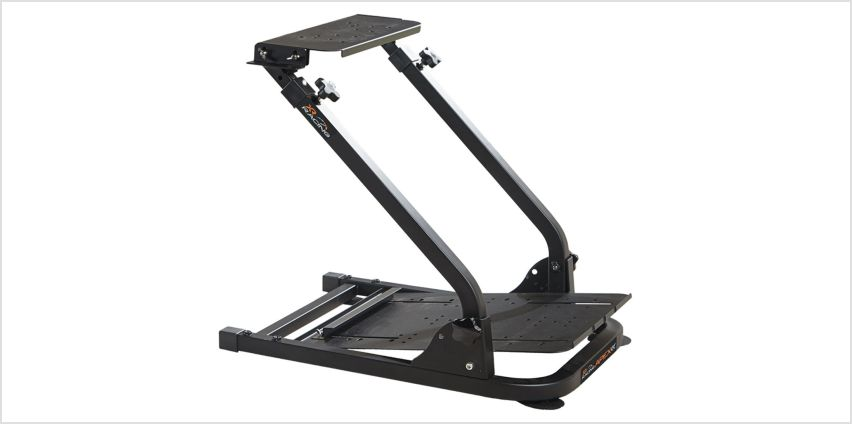 X Rocker XR Racing Rig Universal Steering Wheel Pedal Mount from Argos