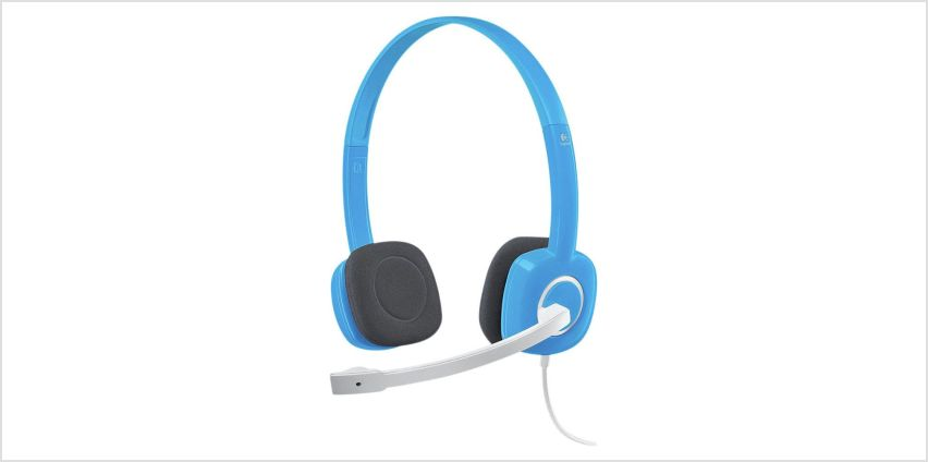 Logitech H150 Stereo PC Headset - Blue from Argos