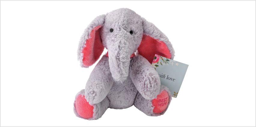 Argos Home Best Mum Elephant Plush from Argos