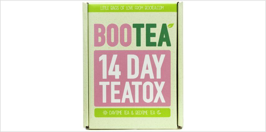 Bootea 14 Day Teatox from Argos