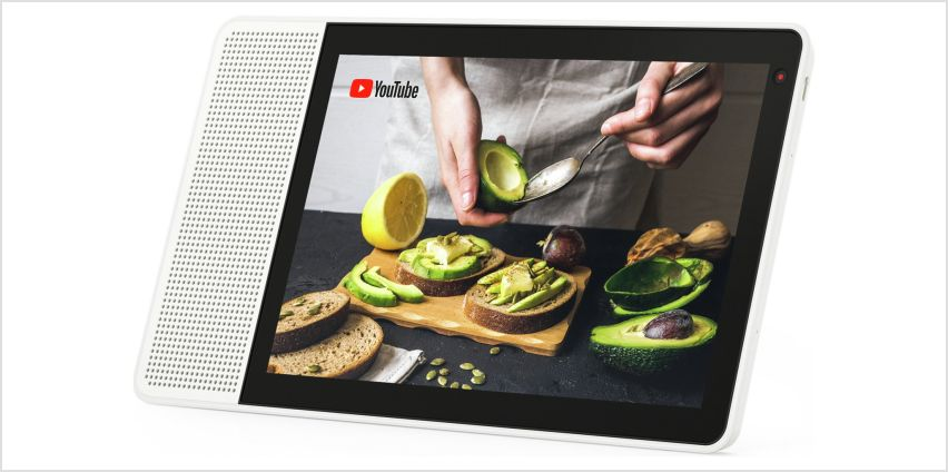 Lenovo Smart Display with the Google Assistant – 10 Inch from Argos