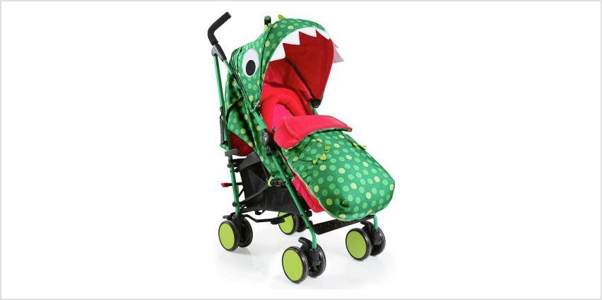 Cosatto Supa 2018 Stroller - Dino Mighty from Argos