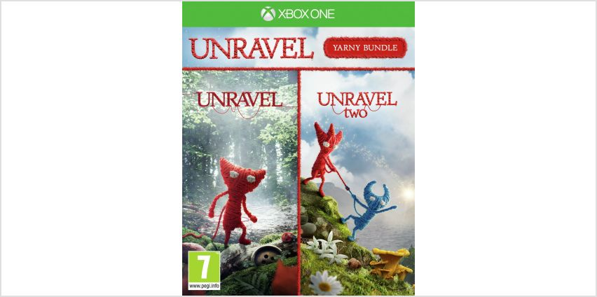 Unravel: Yarny Bundle Xbox One Game from Argos