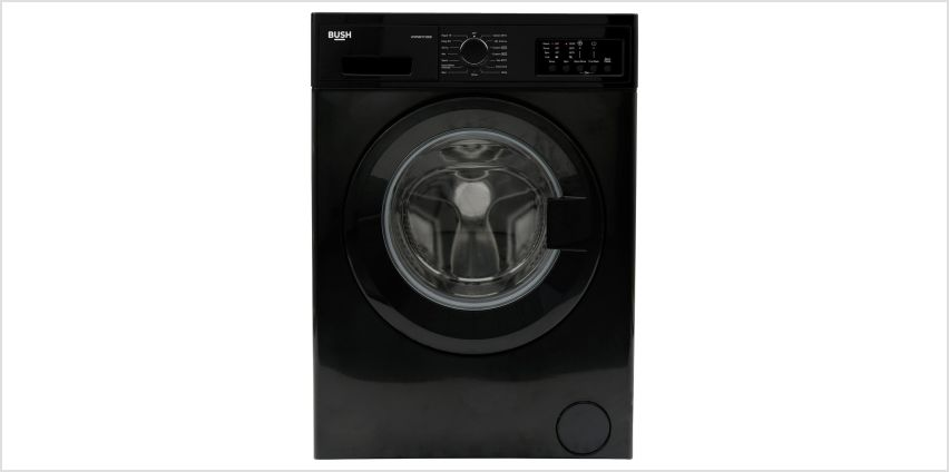 Bush WMNB1012EB 10KG 1200 Spin Washing Machine - Black from Argos