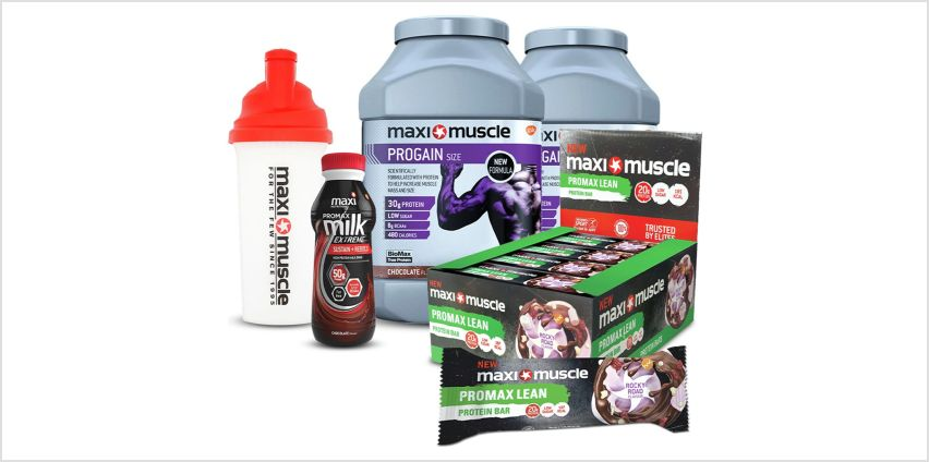 Maximuscle Muscle Gain Bundle from Argos