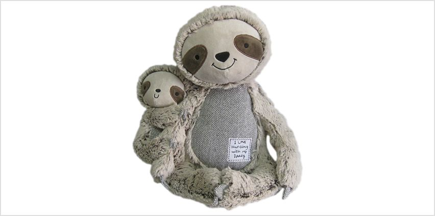 Argos Home Sloth and Baby Plush from Argos
