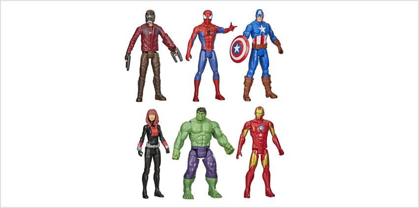 Marvel Avengers Hero Multipack V2 from Argos