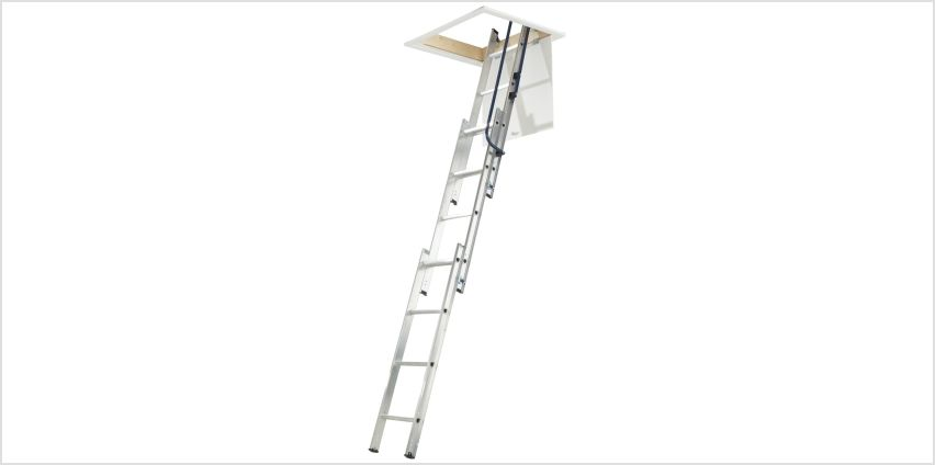 Abru 3 Section Easy Stow Loft Ladder from Argos