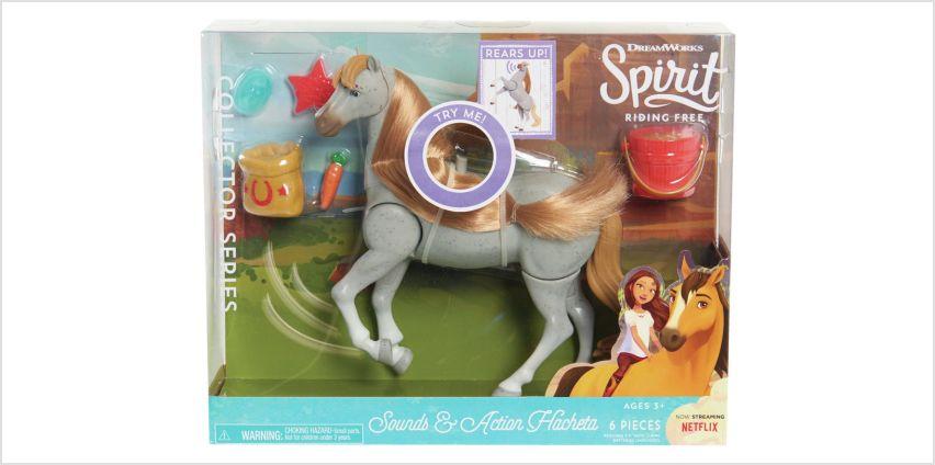 Spirit Classic Sound & Action Horse - Feeding from Argos