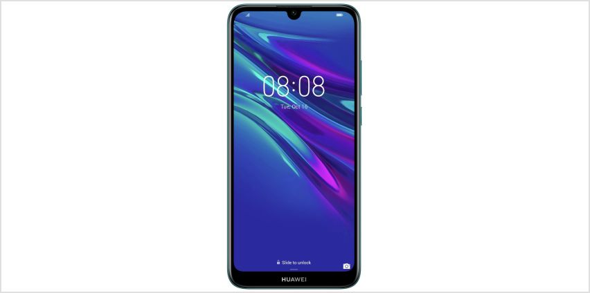 SIM Free Huawei Y6 32GB Mobile Phone - Blue from Argos