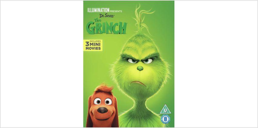 The Grinch DVD from Argos