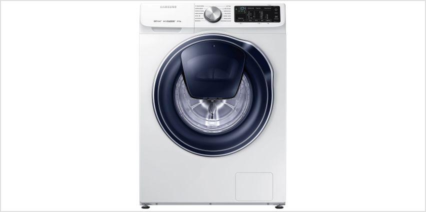 Samsung WW80M645OPM/EU 8KG 1400 Spin Washing Machine - White from Argos