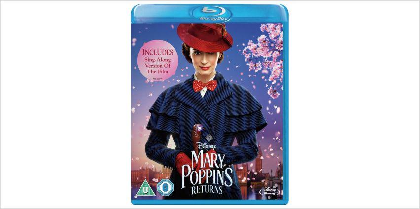 Mary Poppins Returns Blu-Ray from Argos