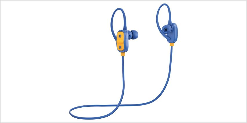 JAM Live Large In-Ear Bluetooth Headphones - Blue from Argos