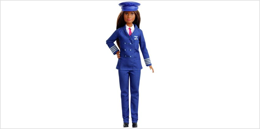 Barbie 60th Career Doll - Pilot from Argos