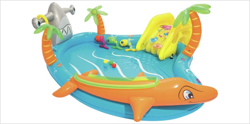Chad Valley 9ft Sea Life Play Kids Paddling Pool - 273L from Argos