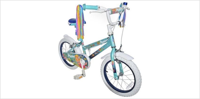 Click n Go Marina Mermaid 16 inch Wheel Size Kids Bike from Argos