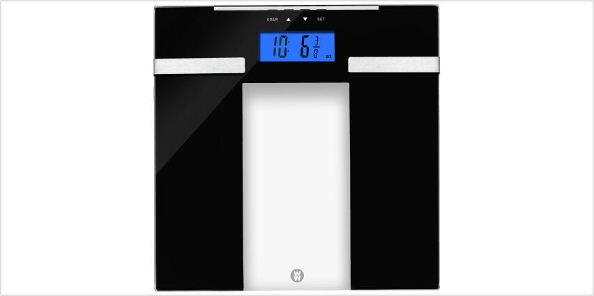 Weight Watchers Ultra Slim Body Analyser Scale - Glass from Argos