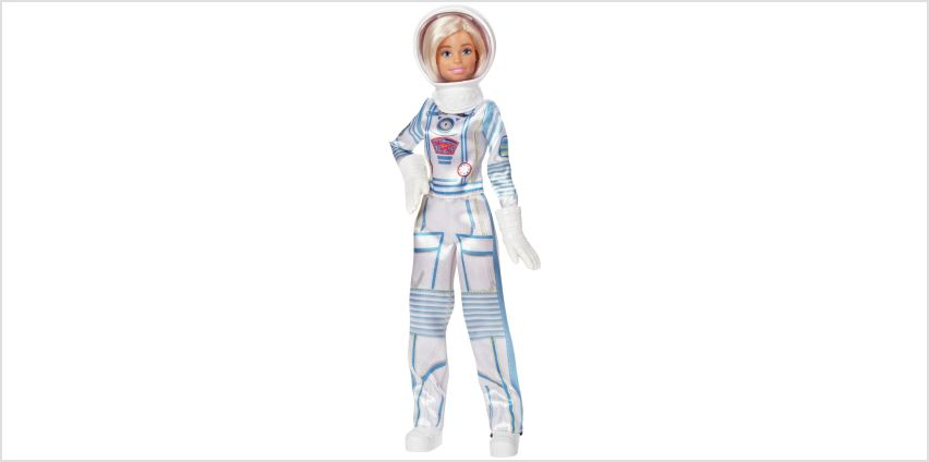 Barbie: I Can Be an Astronaut (60th Career Doll) from Argos