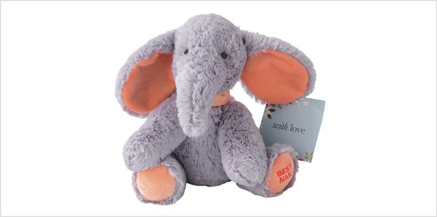Argos Home Best Nan Elephant Plush from Argos