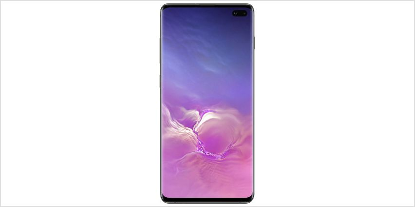 SIM Free Samsung Galaxy S10+ 128GB - Prism Black from Argos