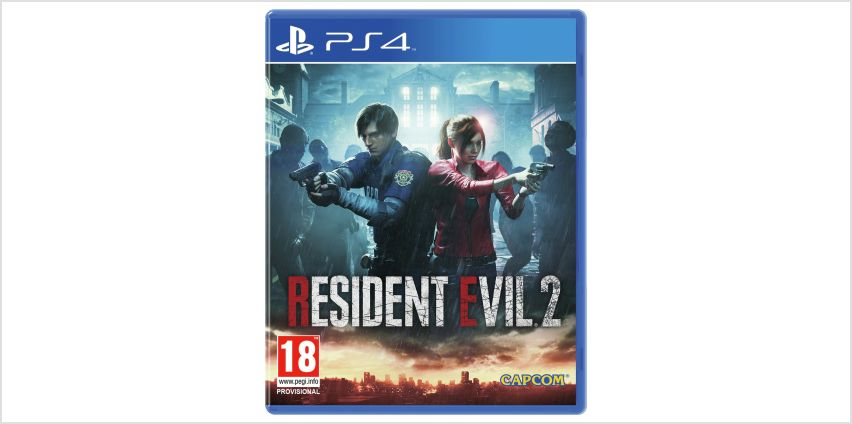 Resident Evil 2 Remastered PS4 Game from Argos