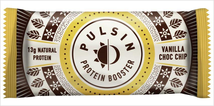 Pulsin Vanilla Choc Chip Protein Booster 50g x 18 from Argos