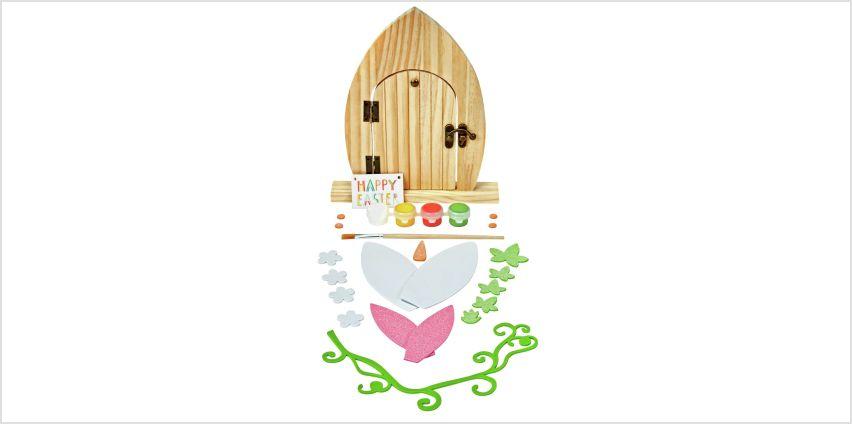 Argos Home Make Your Own Easter Bunny Door from Argos