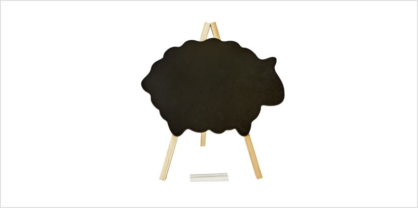 Argos Home Sheep Chalkboard from Argos