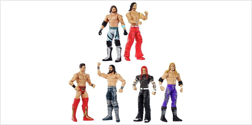 WWE Wrestlemaina Figure Battle Assortment from Argos