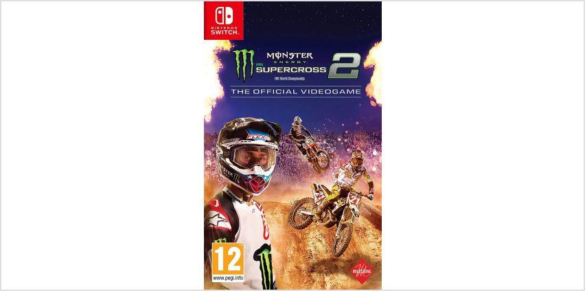 Monster Energy Supercross 2 Nintendo Switch Game from Argos