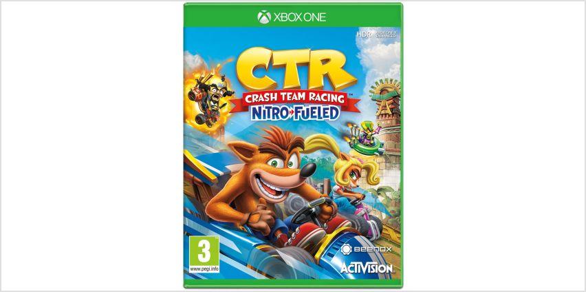 Crash Team Racing Nitro-Fueled Xbox One Game from Argos