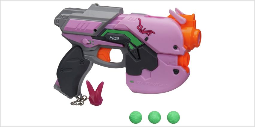 Nerf Rival Overwatch D.Va from Argos