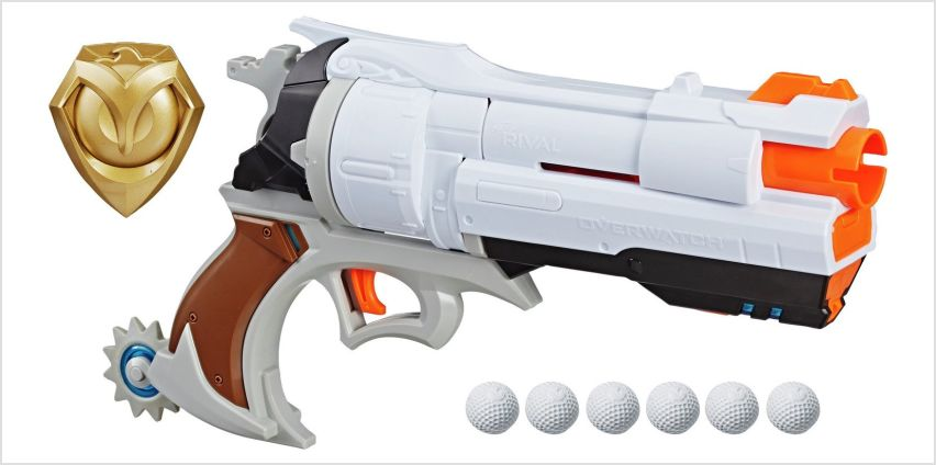 Nerf Rival Overwatch McCree Blaster from Argos