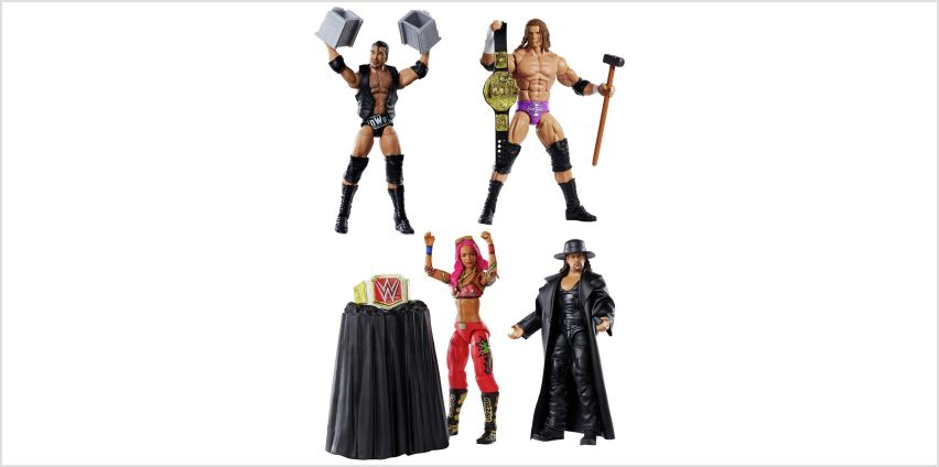 WWE Wrestlemania Elite Figure Assortment from Argos
