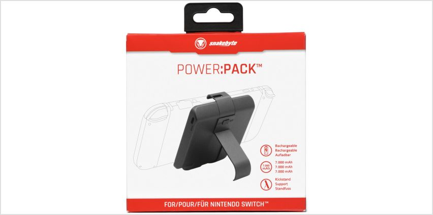 Snakebyte Nintendo Switch Power Pack from Argos