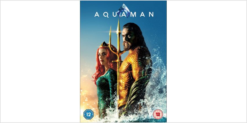 Aquaman DVD from Argos