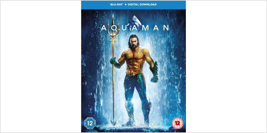 Aquaman Blu-Ray from Argos